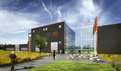 25-70 former Denver Post adaptive reuse rendering open studio architecture OSA