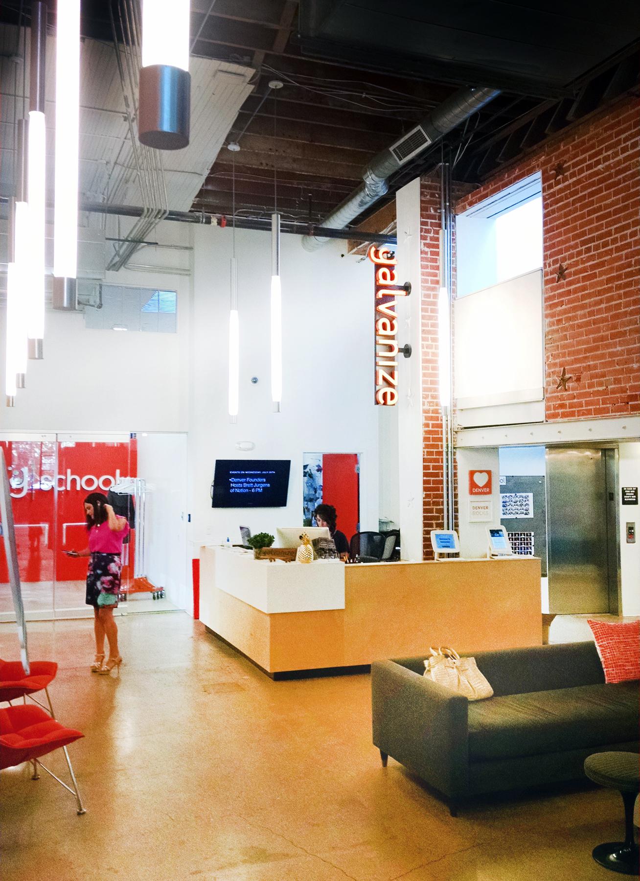 galvanize 1.0 adaptive reuse cowork lobby open studio architecture OSA
