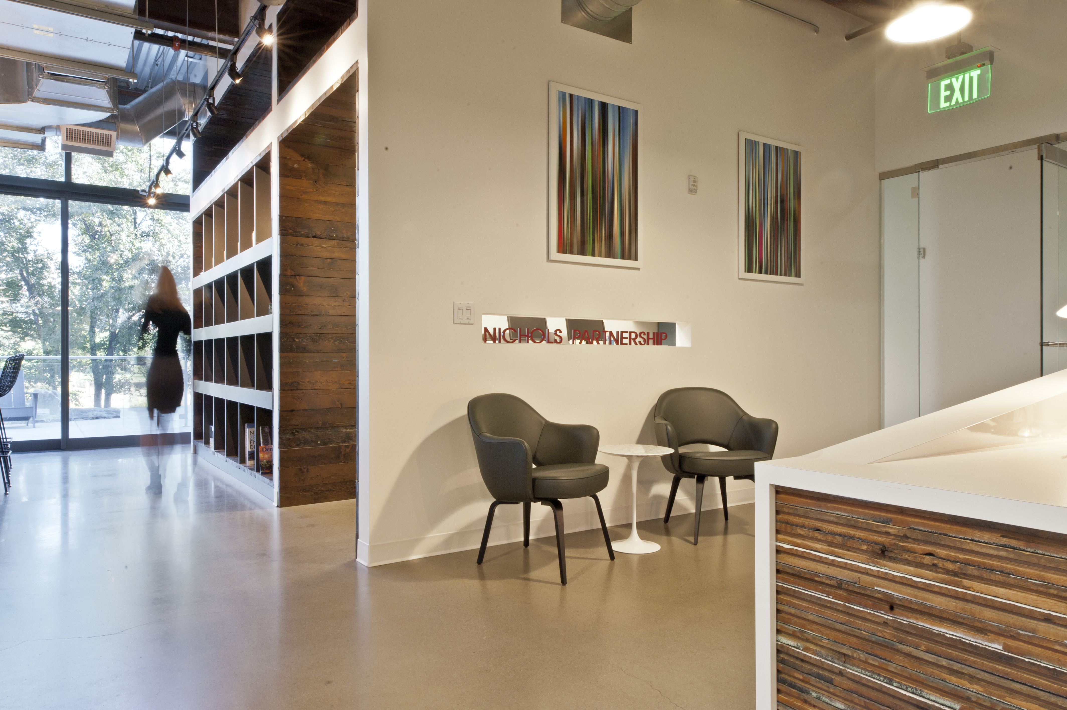 Open Studio Architecture Nichols Partnership Interior Reception OSA
