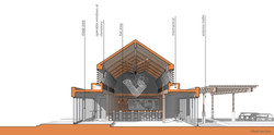 open studio architecture new belgium brewery liquid center expansion section osa