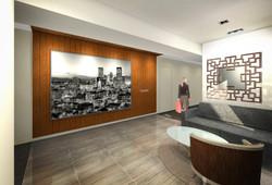 9 Residences at Fillmore Plaza Cherry Creek open studio architecture OSA - interior rendering elevat