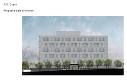 1 Proposed East Elevation