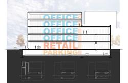 1500 Market Street building section diagram open studio architecture OSA
