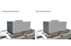 Side by side existing and proposed windo