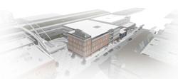 OSA Open Studio Architecture UNICO Office Building 16th & Platte Street Denver birdseye view1