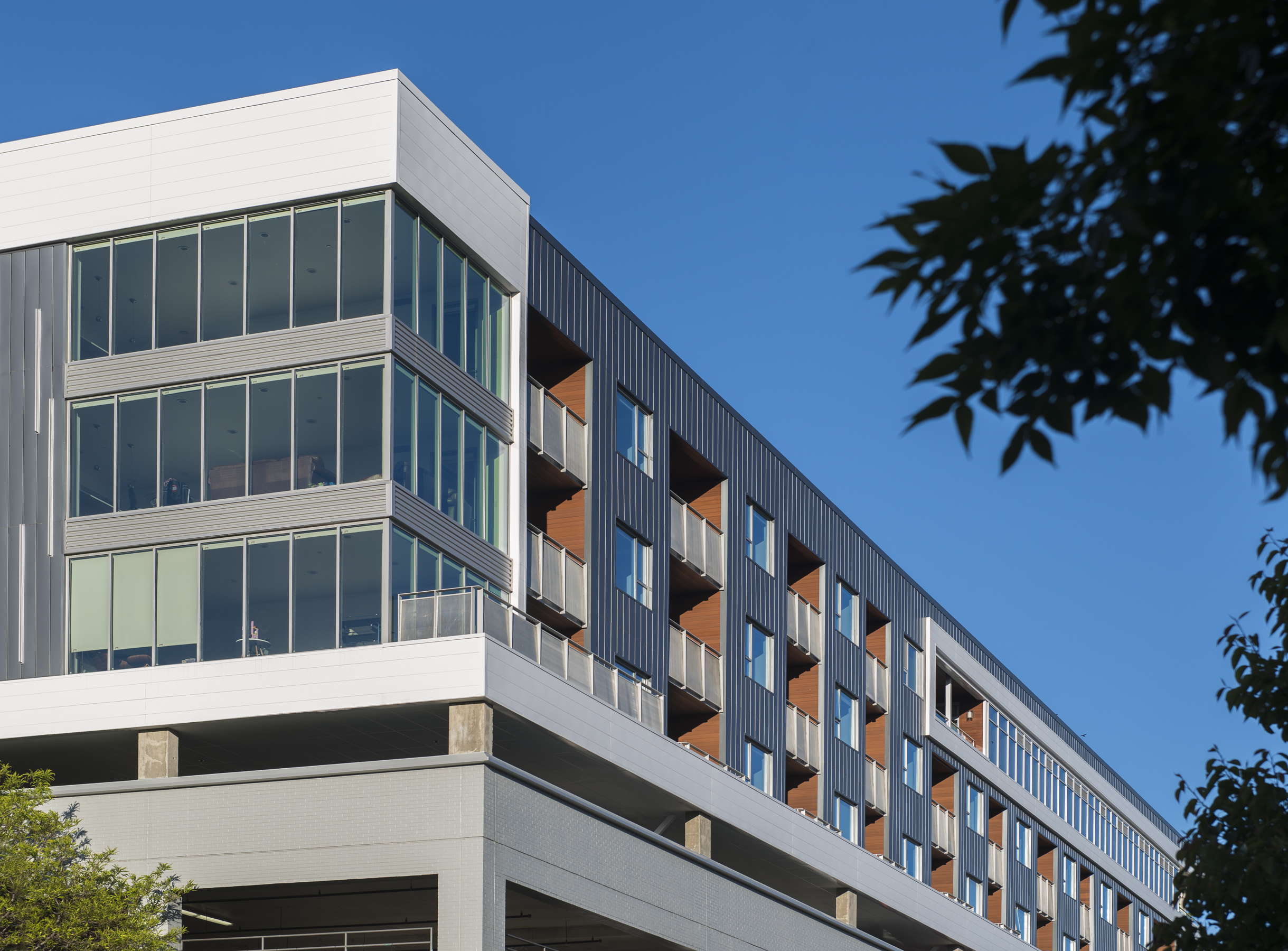 1 Residences at Fillmore Plaza Cherry Creek open studio architecture OSA - exterior apartments 2nd a