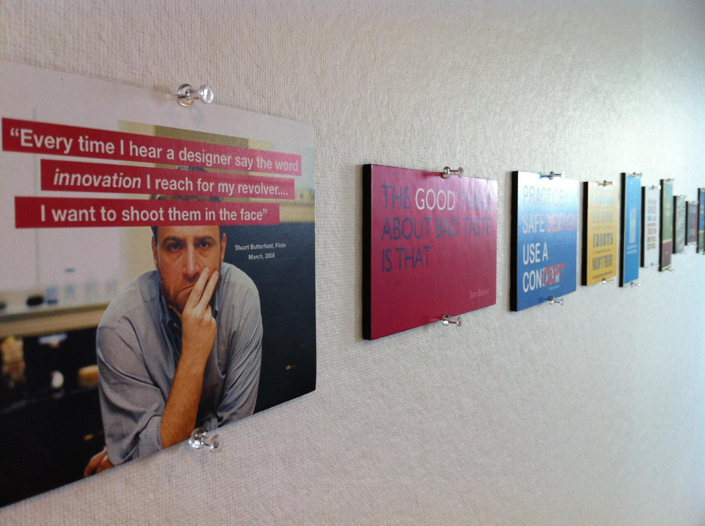 OSA Open Studio Architecture Motto design Inspiration wall photo8