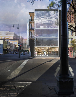 1500 Market Street rendered south elevation open studio architecture OSA