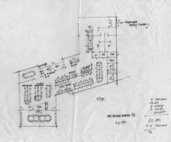 new belgium brewing trace paper sketch floor plan 1 open studio architecture