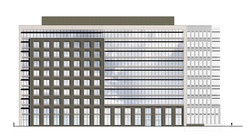 Granite Place at Village Center Office Building Elevation W Open Studio Architecture OSA