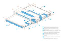 25-70 former Denver Post adaptive reuse axon open studio architecture OSA