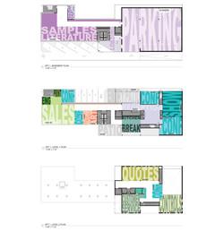 The Lighting Agency TLA Floor Plan Program Diagram Open Studio Architecture OSA
