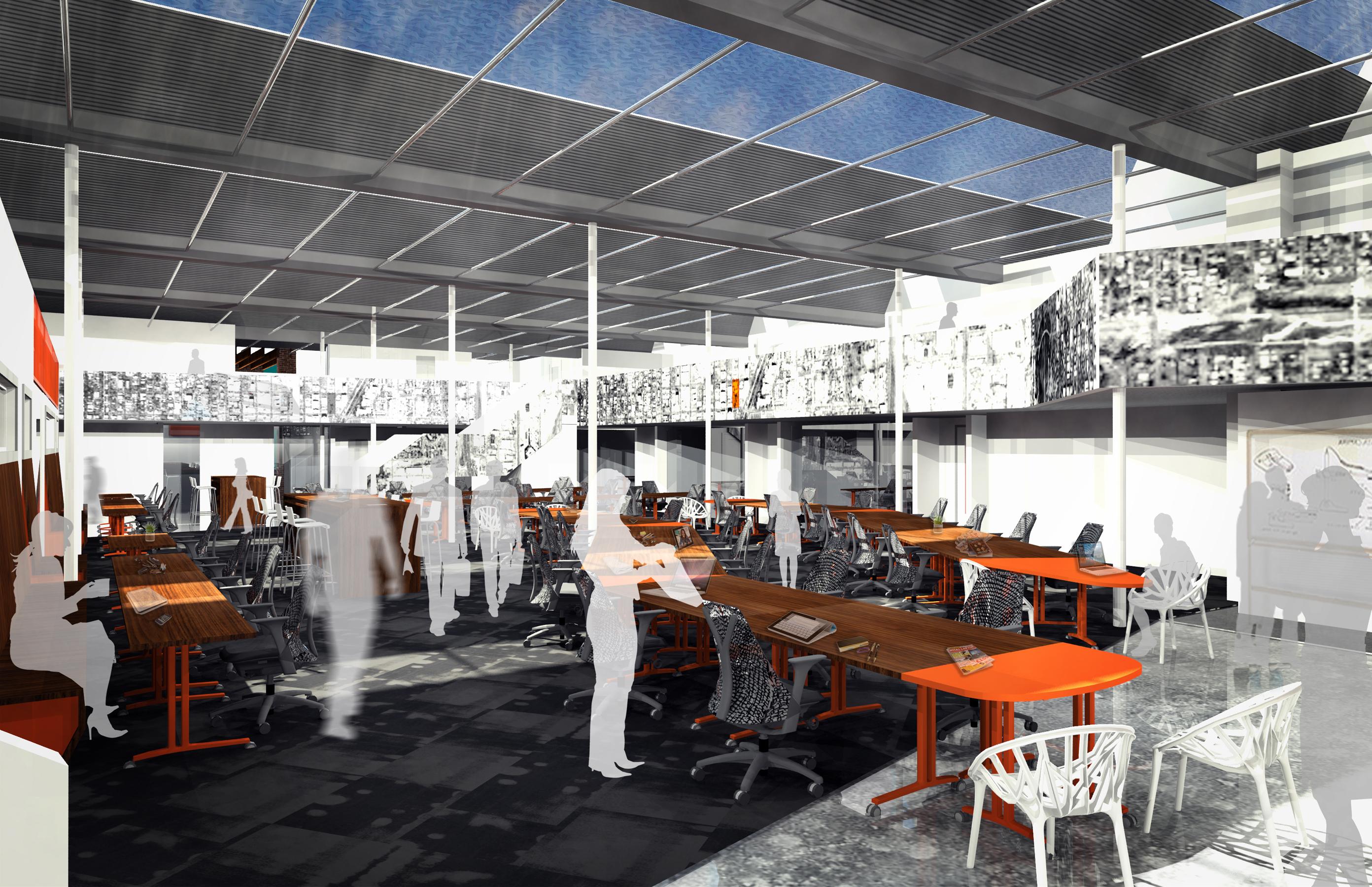 galvanize 1.0 cowork concept open studio architecture OSA