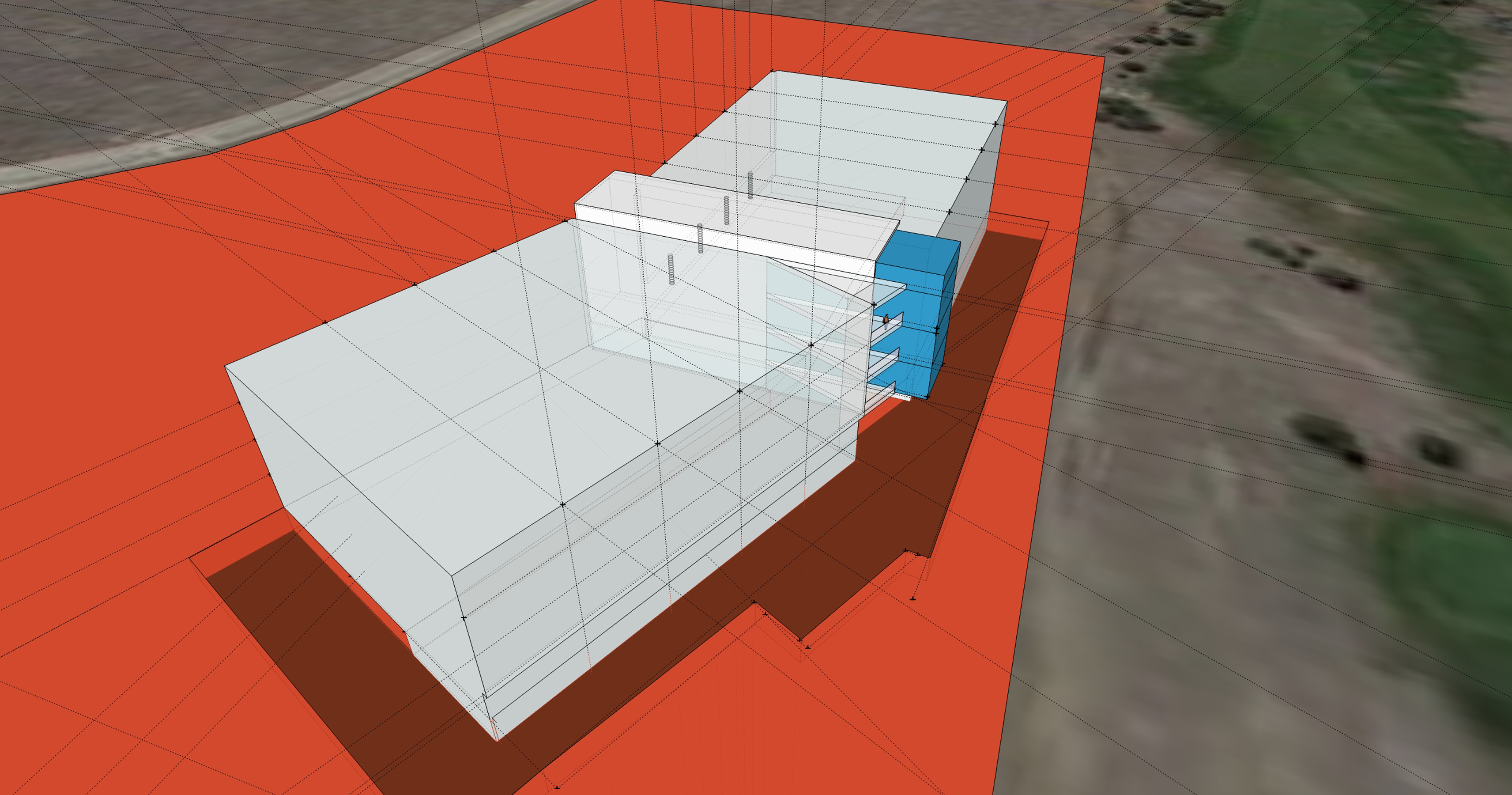 001 open studio architecture Trizzeto Concept Model OSA