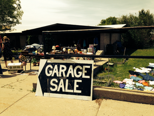 May Fundraising Garage Sale