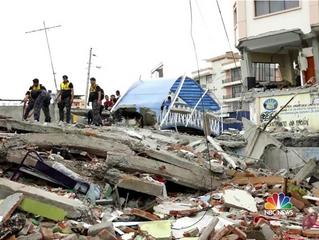7.8 Magnitude earthquake Hits Ecuador!