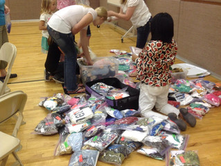 Photos posted from local community service projects
