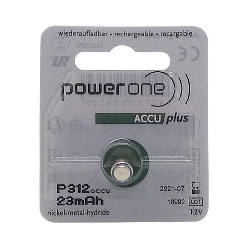 Bateria recarregável 312