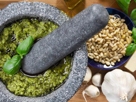 Memories of Pastasciutta con Pesto