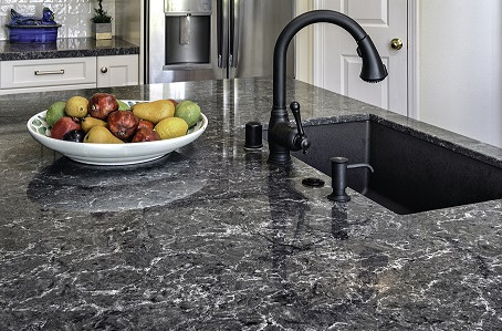 Question: We want to replace our kitchen counter top. At first we thought we'd use granite but ...