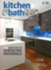 Kitchen & Bath design news magazine, kitchen, quartz top