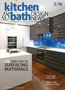 Kitchen & bath design news magazine, kitchen