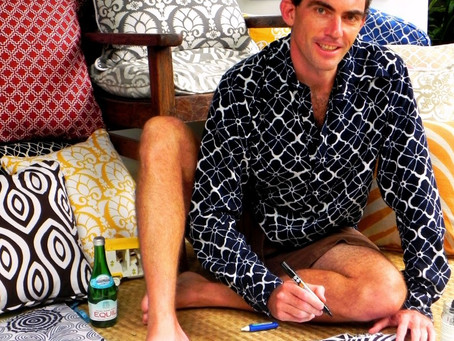 The Art of Batik ... An American Couple Relocates to Bali and Starts a New Company