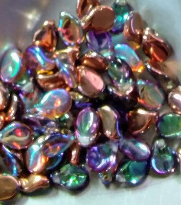 Pip Crystal Copper Rainbow