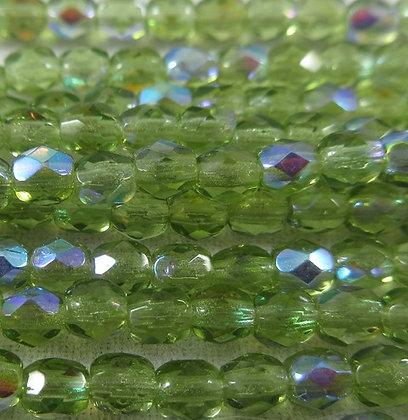 7359  3mm Transparent Olive AB