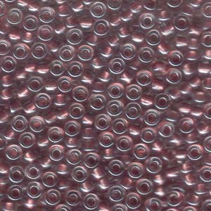 6-92601 Metallic Rose Lined Crystal