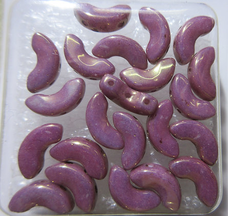 3-Hole Arcos Opaque Violet/Gold Luster