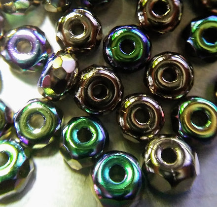 Faceted Micro Spacer Nickel Plate AB