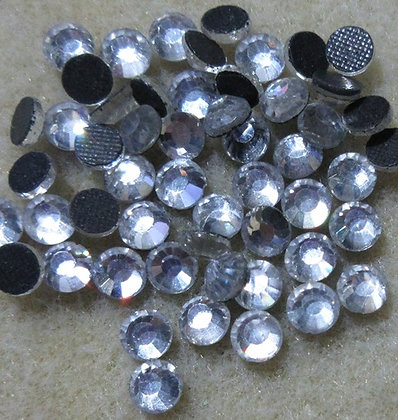 HF12-5 - 5mm Crystal Hot Fix Crystals, 50/Package