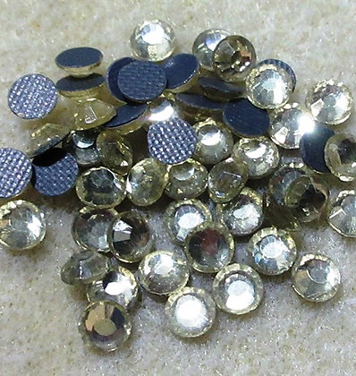 HF24-4 - 4mm Jonquil Hot Fix Crystals, 50/Package