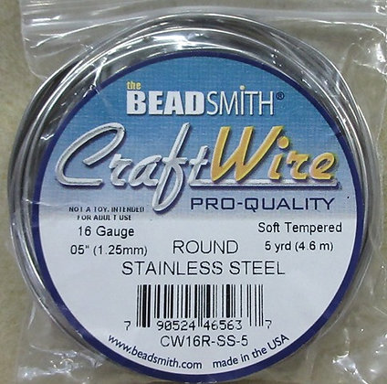 16 Gauge Stainless Steel, 5 Yards