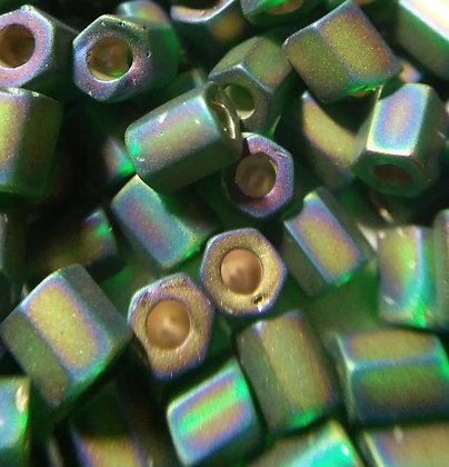8Hex-F647 Emerald Matte S/L AB