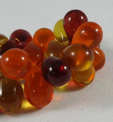 6x9mm Orange/Red/Yellow Fall Drop Mix