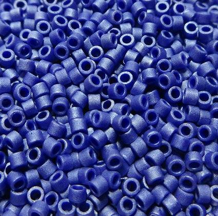 DB-361  11/0 Delica Matte Metallic Sapphire Blue