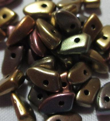 3x6mm Prong Metallic Bronze Iris