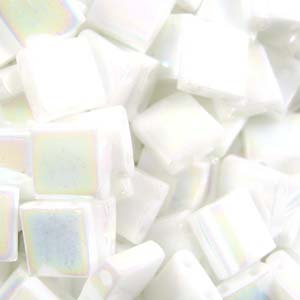 Tila Opaque White Pearl AB
