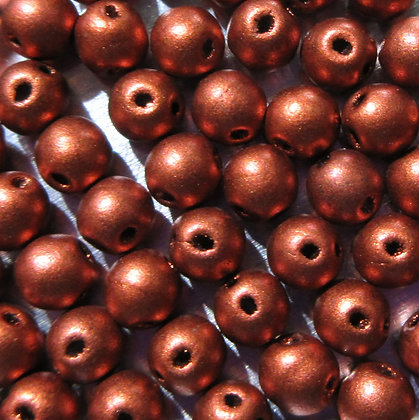 4mm 2-Hole RounDuo Mini Copper