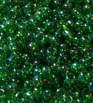 11-T167B Avocado Green Transparent AB