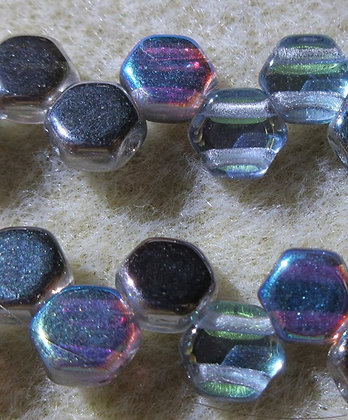 6mm 2-Hole Honeycomb Crystal Graphite RB