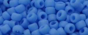 15-T43DF Matte Opaque Medium Blue