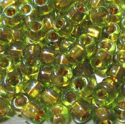6-726  Olivine/Gold Lined