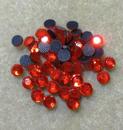 HF35-5 - 5mm Orange Hot Fix Crystals, 50/Package