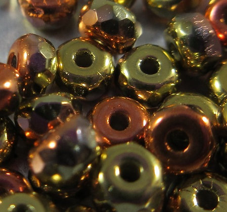 2x3mm California Gold Micro Spacers