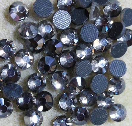 HF18-5 - 5mm Black Diamond Hot Fix Crystals, 50/Package