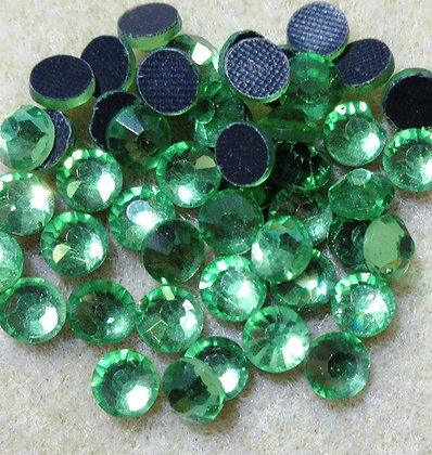 HF78-3 - 3mm Peridot Hot Fix Crystals, 50/Package