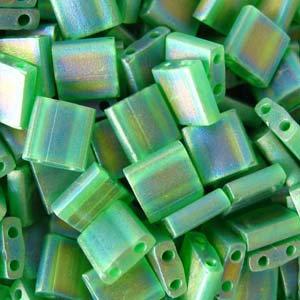 Tila Transparent Green AB Matte